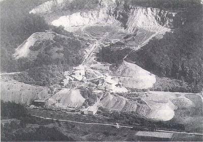 Basaltwerk in Enspel/Westerwald